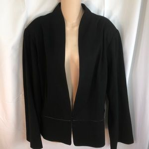Eileen fisher woman NWT black jacket 3X new